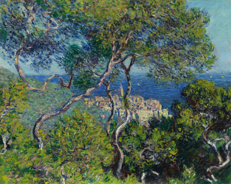Bordighera, 1884 - by Claude Monet