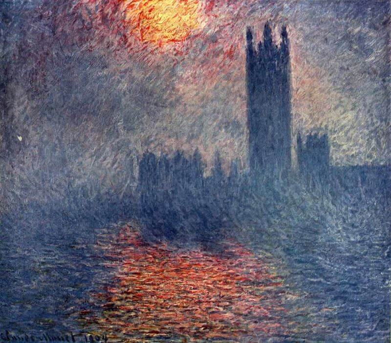 Houses of Parliament, 1904 by Claude Monet