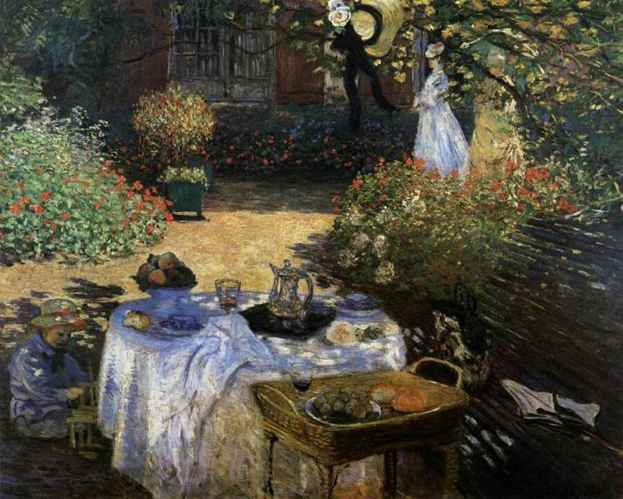 The Lunch, 1876-1877 by Claude Monet