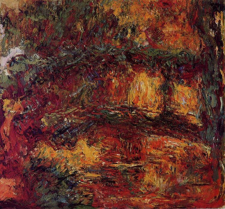 Water Lilies - Japanese Bridge, 1923 by Claude Monet