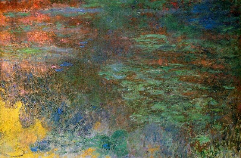 Water Lilies Pond, Evening Panel, 1926 by Claude Monet