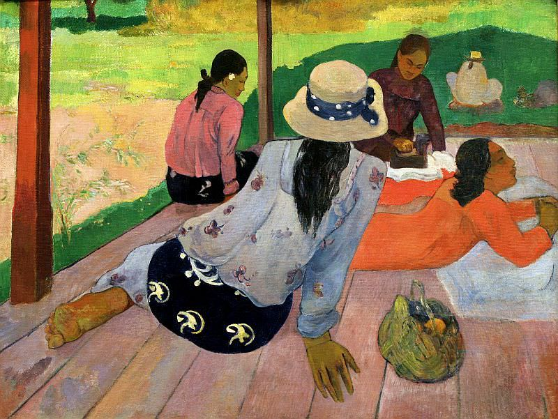 The Siesta by Paul Gaugin